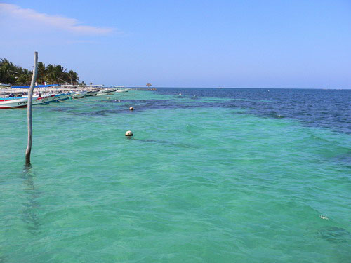 Playas de Puerto Morelos Playas del mundo