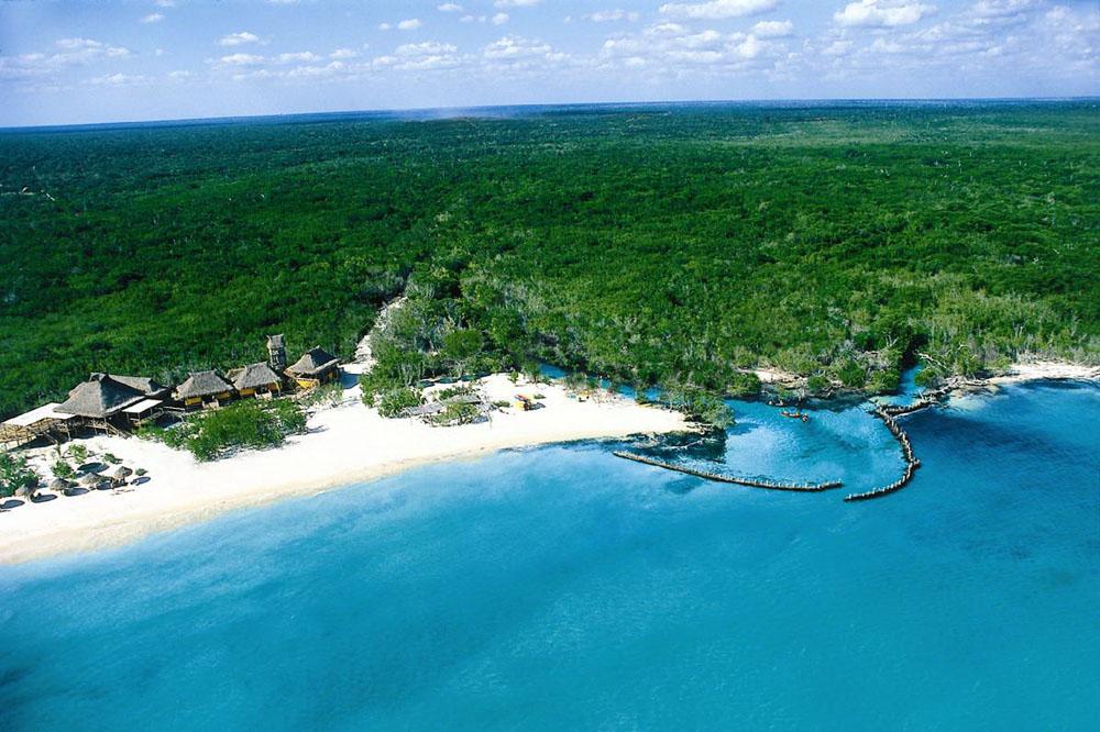 Playas de Punta Allen Playas del mundo
