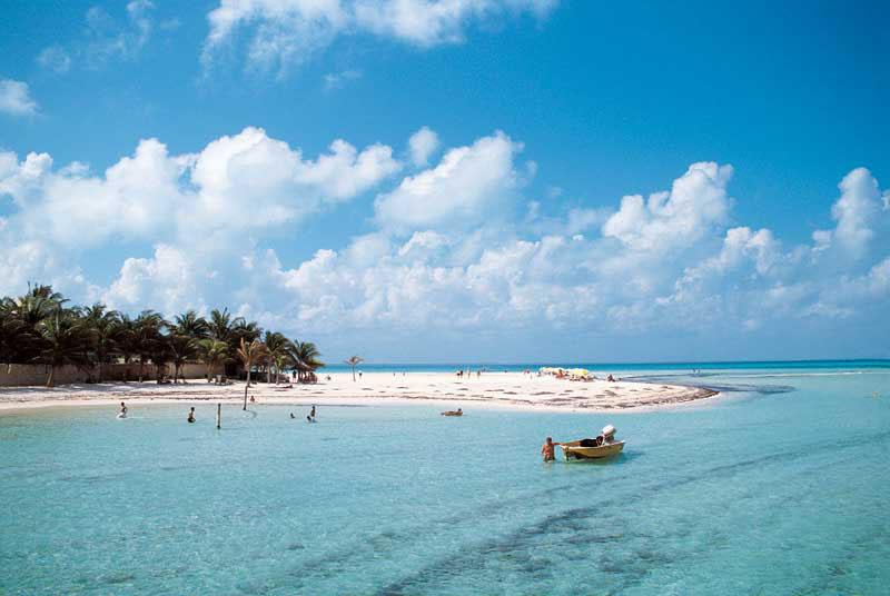 Playas de Isla Mujeres Pueblo Magico Playas del mundo